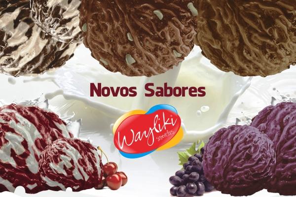 Wayliki Sorvetes - Novos Sabores no Pote ID 01