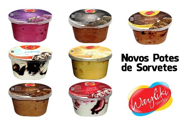 Wayliki Sorvetes - Novos Sabores no Pote ID