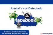 Alerta de Virus em Facebook