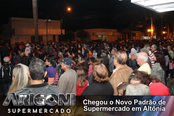 Arigoni Supermercados - Show 01