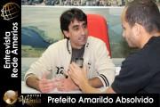 Prefeito Amarildo Absolvido - Entrevista Portais Amerios 2