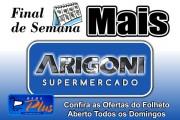 Arigoni Supermercado - Final de Semana Mais