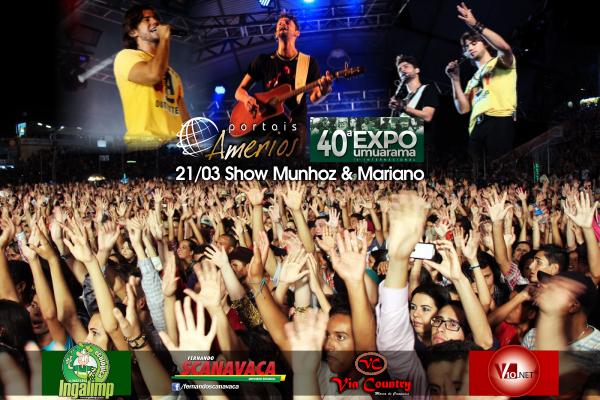 Expo Umuarama 2014 - Show Munhoz & Mariano
