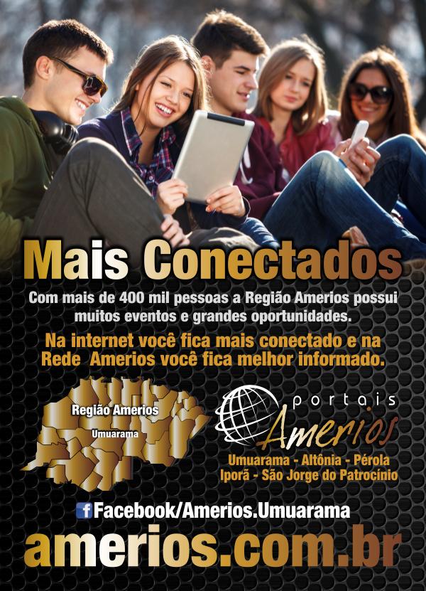 Rede Amerios 2014 - Folheto Frente
