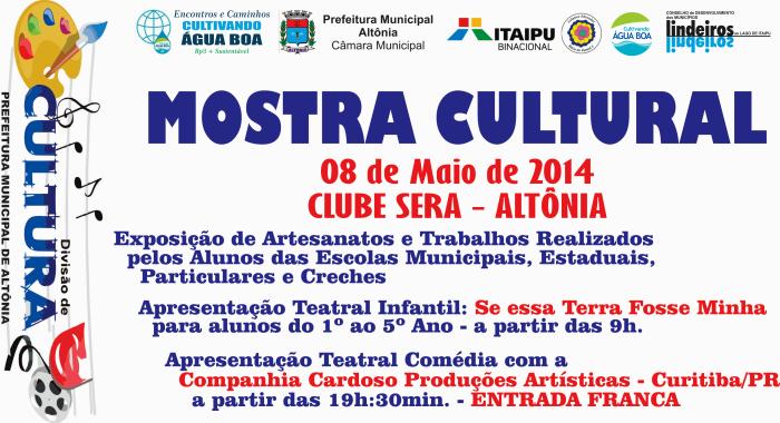PEC - CAB - Itaipu - Mostra Cultural - Cartaz