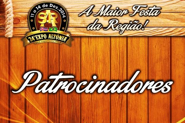 Expo 2014 - Patrocinadores