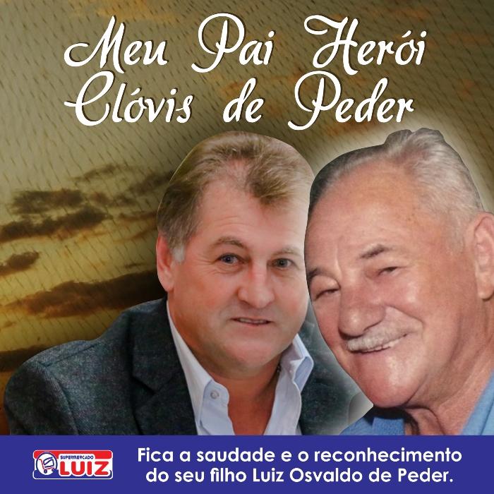 Homenagem Clovis de Peder - Id
