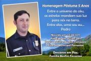 Pedro Adriano Ferrareze - Homenagem 5 Anos - Id