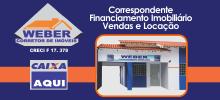 Banner Curto - Weber Imóveis