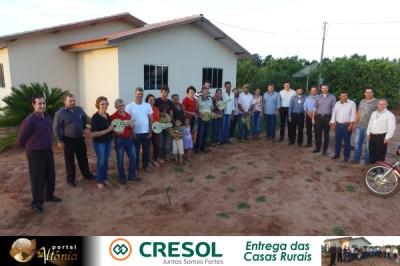Cresol Entrega das Casas Rurais - Id