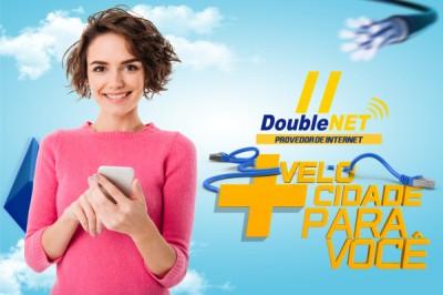 DoubleNet - Mais Velocidade - Id