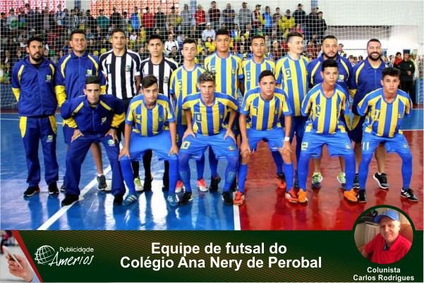 """8f03dba168 A equipe de futsal masculino """"A"""" sub 17 disputou em Douradina e Ivaté mais  uma edição dos Jogos Escolares do Paraná"""