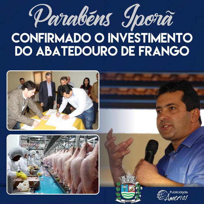 PM Iporã - Investimento Frigorífico Frango - CT - Id