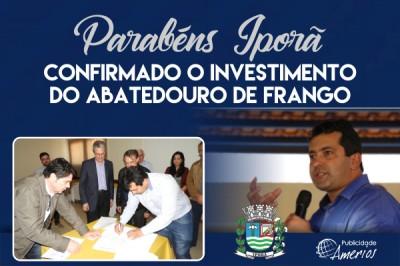 PM Iporã - Investimento Frigorífico Frango - Id