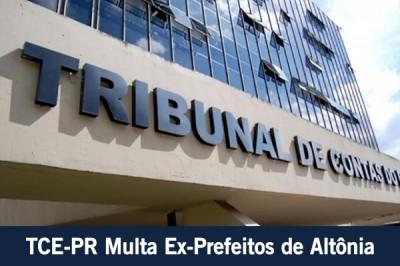 PMA - TCE-PR Multa Ex-Prefeitos - Id