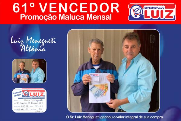 SM Luiz - 61º Ganhador Mensal - Id