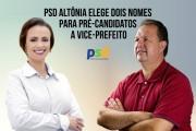 PSD Altônia - Escolha do Vice Prefeito - Id2
